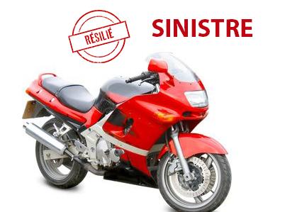 Assurance moto avec sinistres